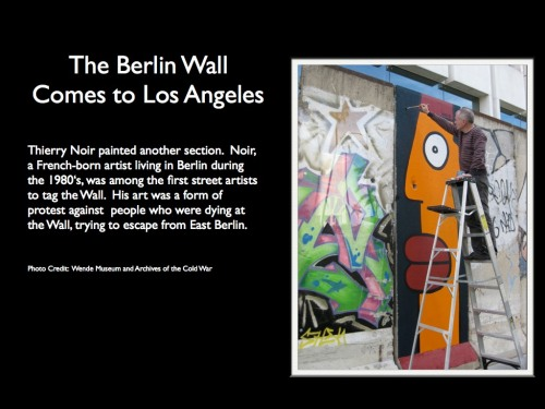 5. The Berlin Wall Comes to L.A.