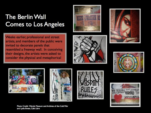 8. The Berlin Wall Comes to L.A.