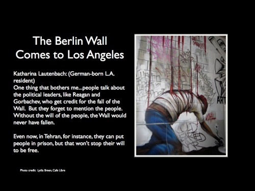 21. The Berlin Wall Comes to L.A.